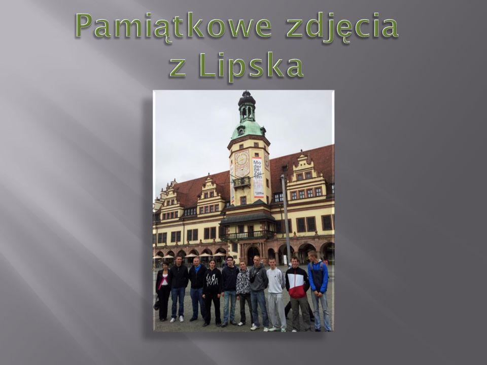 Pamiątkowe zdjęcia z Lipska