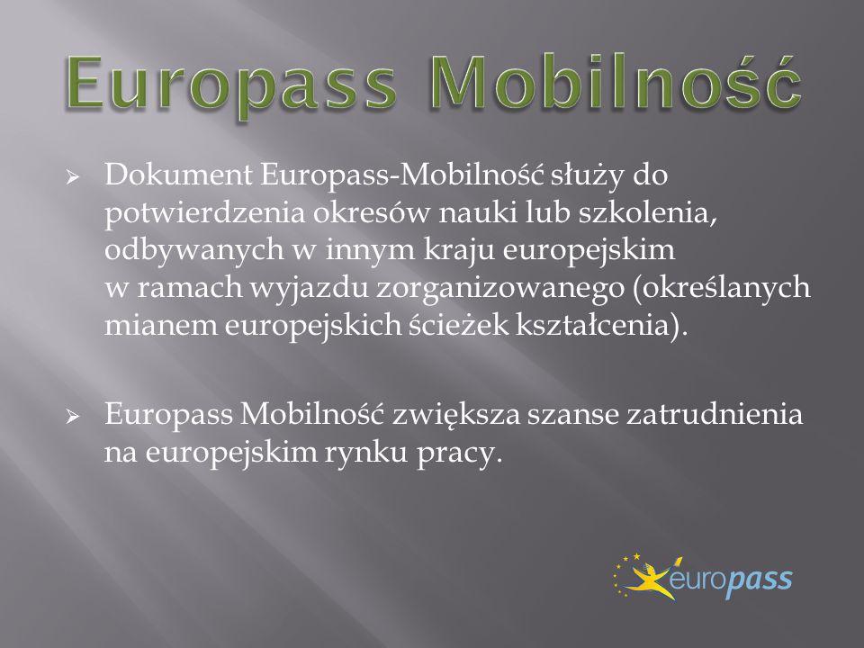 Europass Mobilność