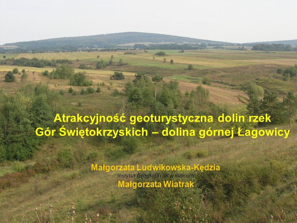 Atrakcyjność geoturystyczna dolin rzek