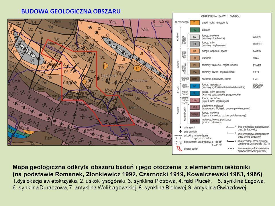 BUDOWA GEOLOGICZNA OBSZARU