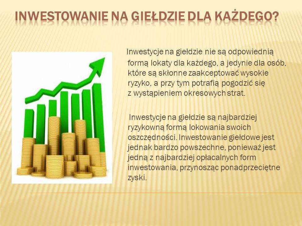 Inwestowanie na giełdzie dla każdego