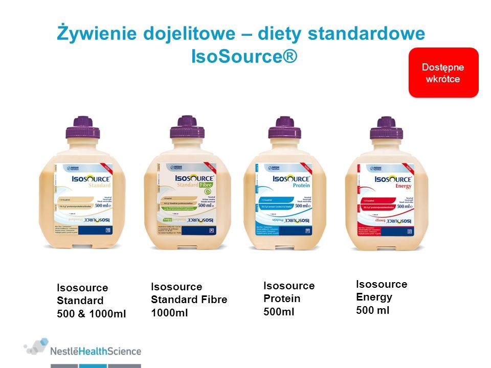 Żywienie dojelitowe – diety standardowe IsoSource®