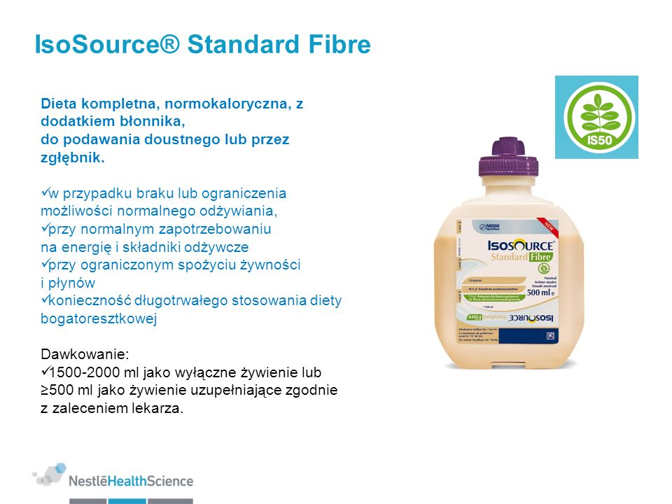 IsoSource® Standard Fibre