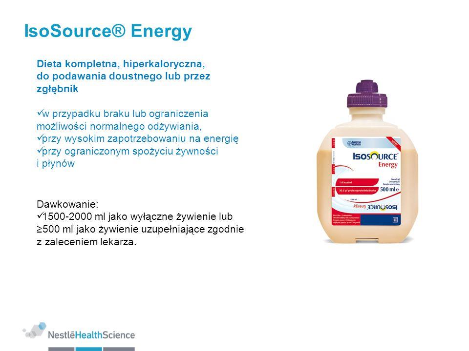 IsoSource® Energy Dieta kompletna, hiperkaloryczna,
