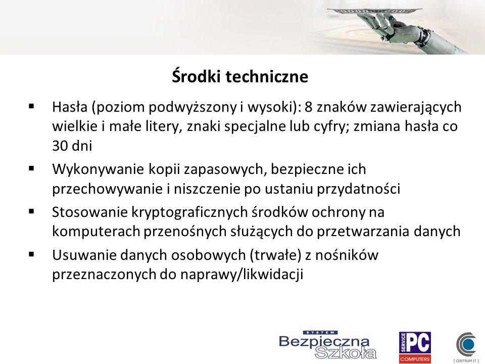 Środki techniczne