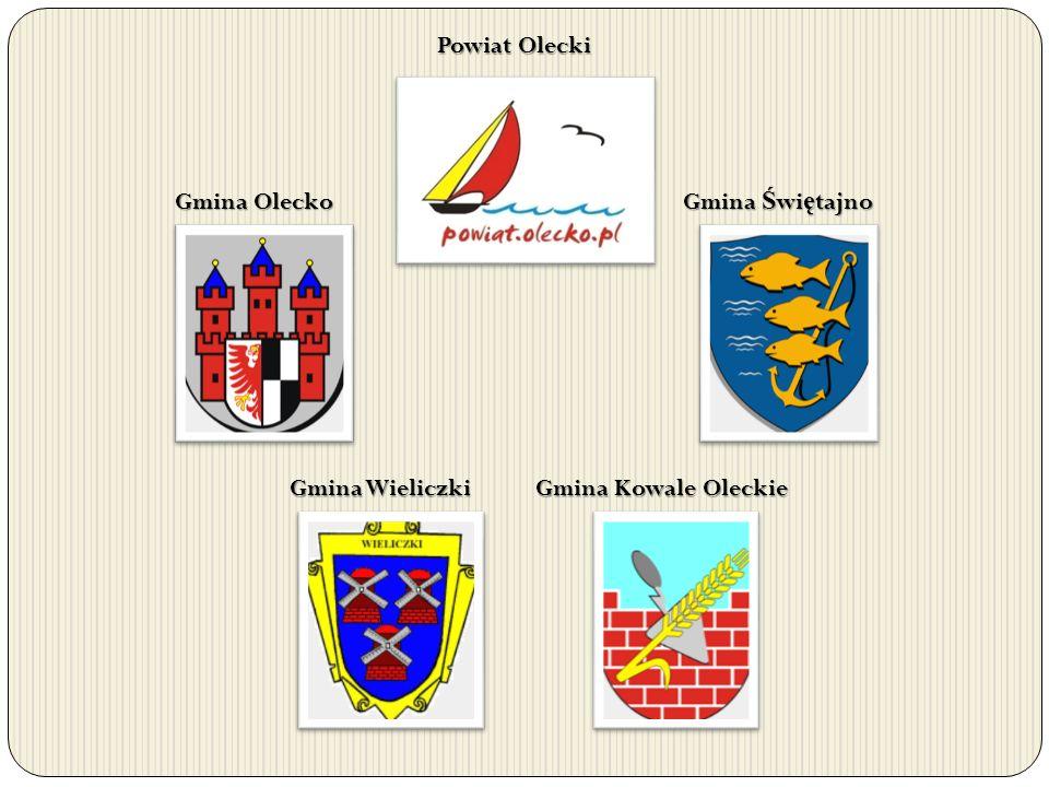 Powiat Olecki Gmina Olecko Gmina Świętajno Gmina Wieliczki Gmina Kowale Oleckie