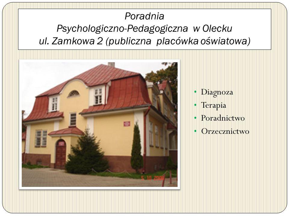 Poradnia Psychologiczno-Pedagogiczna w Olecku ul