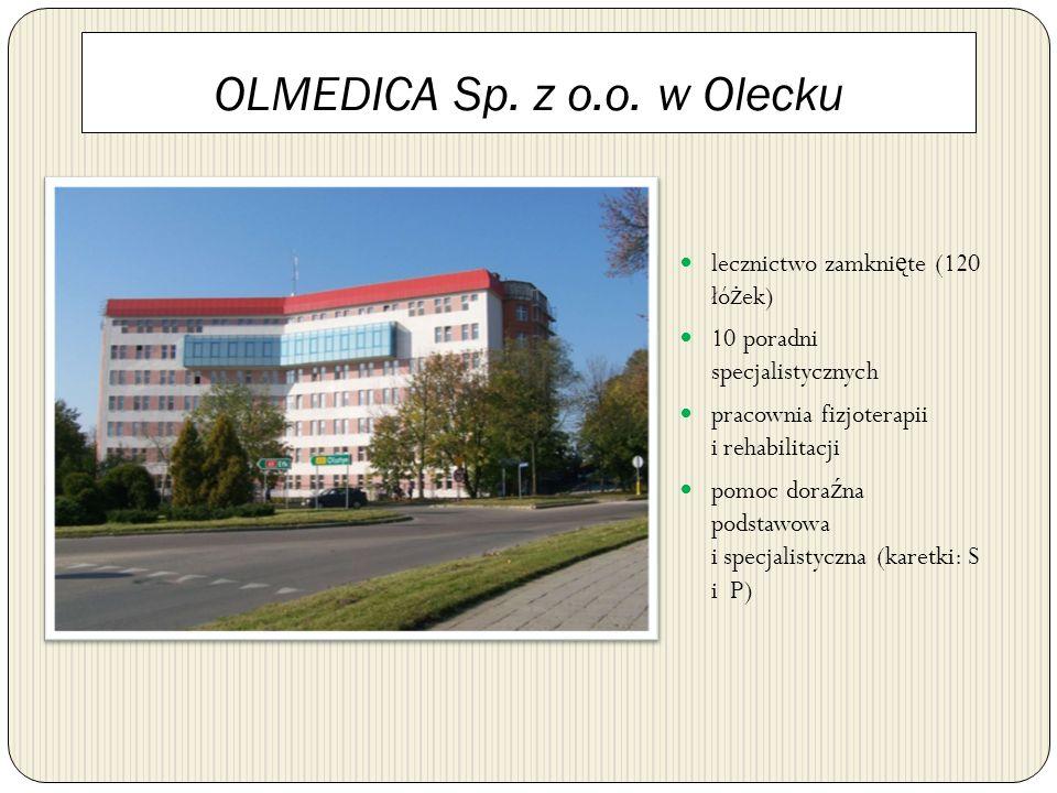 OLMEDICA Sp. z o.o. w Olecku