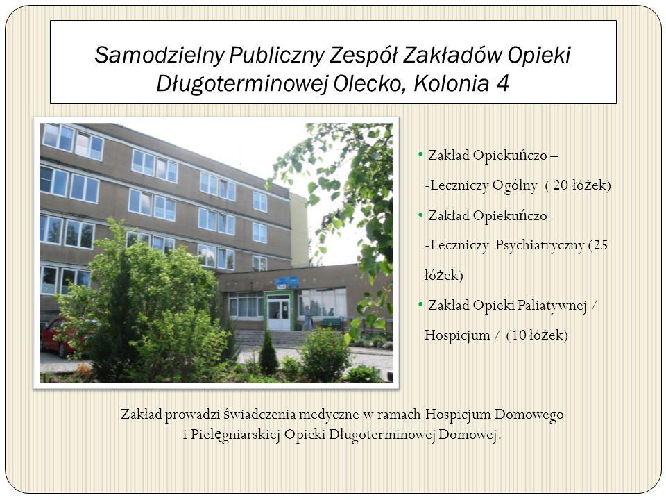 Samodzielny Publiczny Zespół Zakładów Opieki Długoterminowej Olecko, Kolonia 4