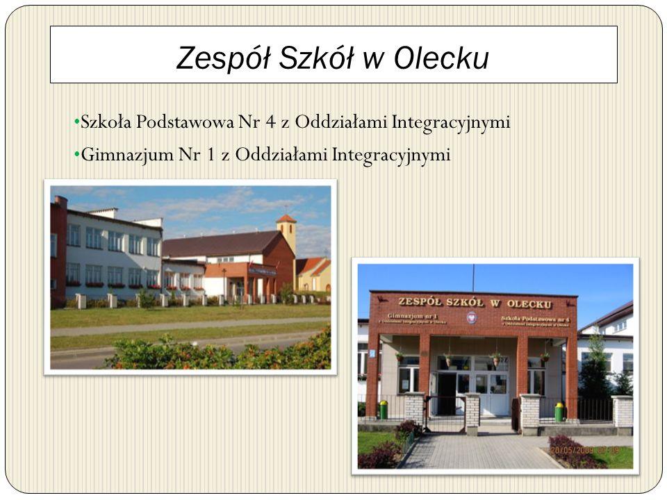 Zespół Szkół w Olecku Szkoła Podstawowa Nr 4 z Oddziałami Integracyjnymi.