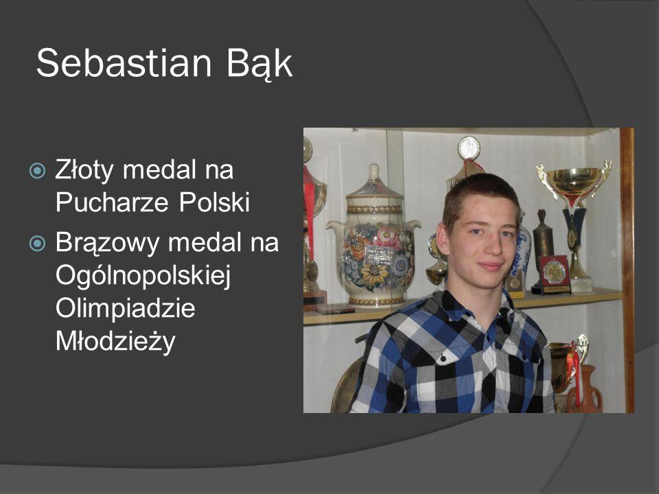 Sebastian Bąk Złoty medal na Pucharze Polski
