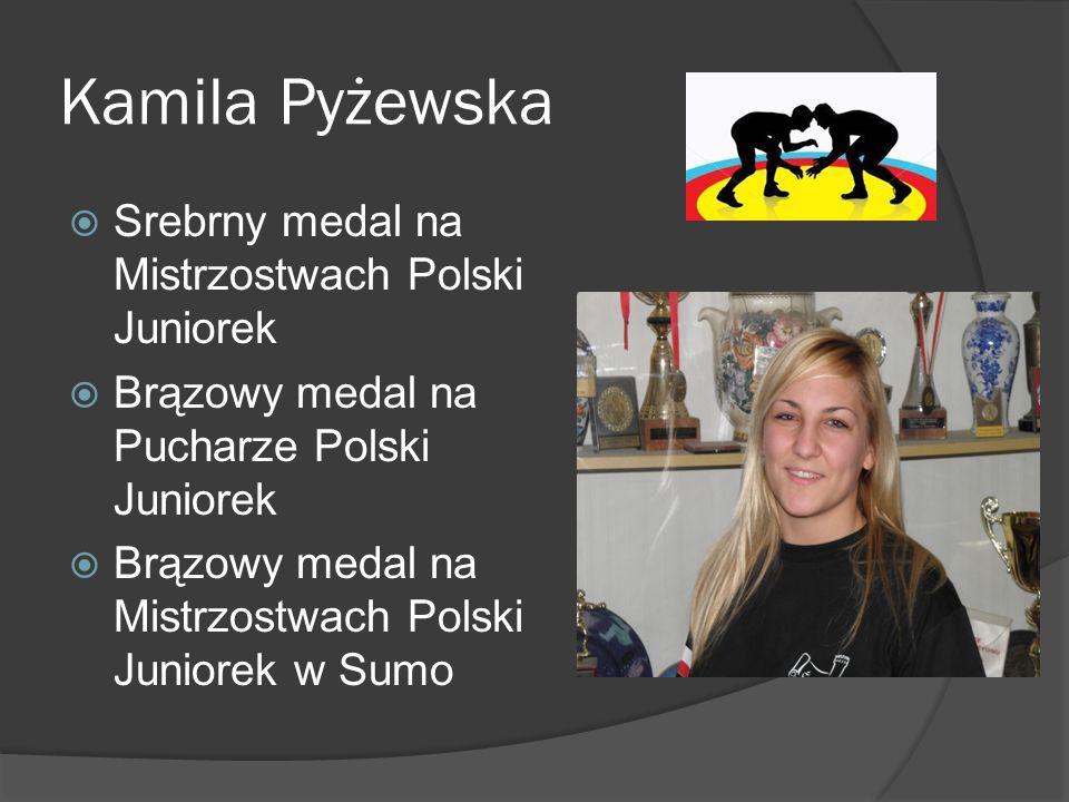 Kamila Pyżewska Srebrny medal na Mistrzostwach Polski Juniorek