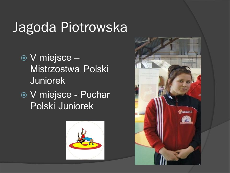 Jagoda Piotrowska V miejsce – Mistrzostwa Polski Juniorek