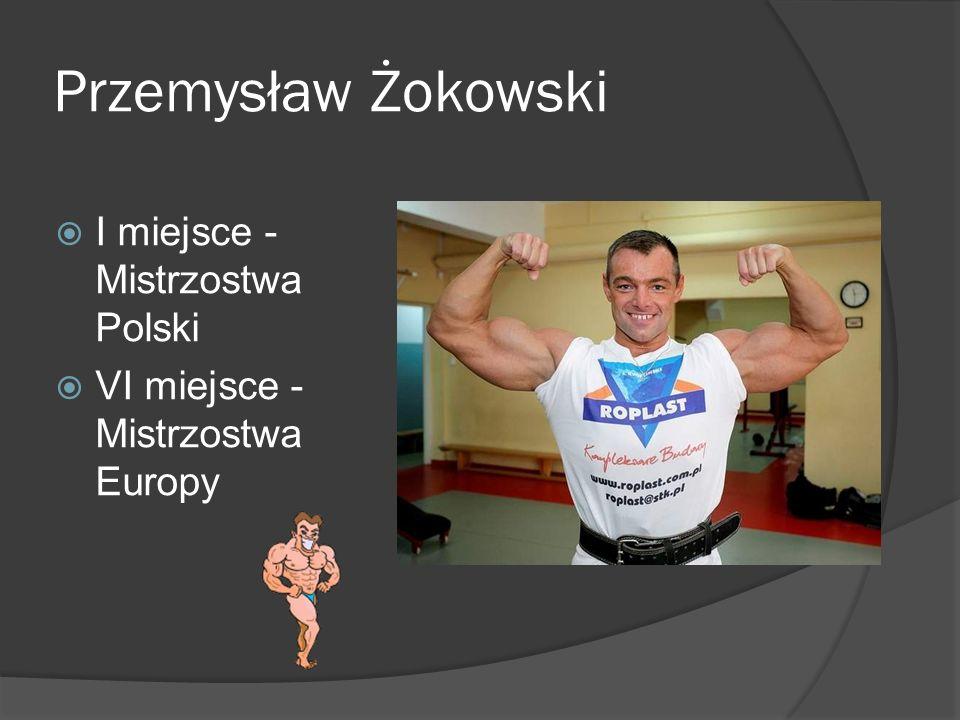 Przemysław Żokowski I miejsce - Mistrzostwa Polski