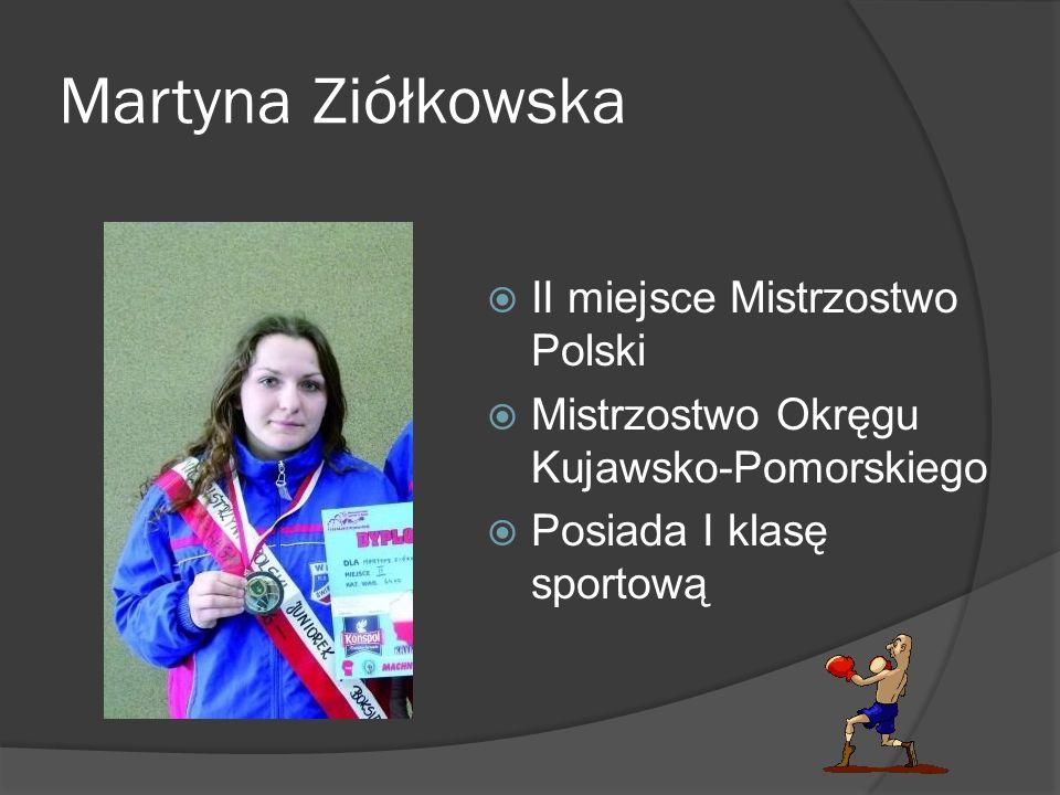 Martyna Ziółkowska II miejsce Mistrzostwo Polski