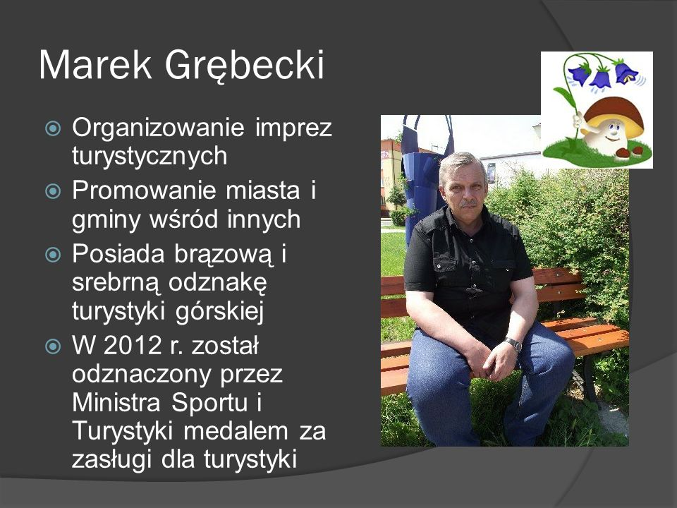 Marek Grębecki Organizowanie imprez turystycznych