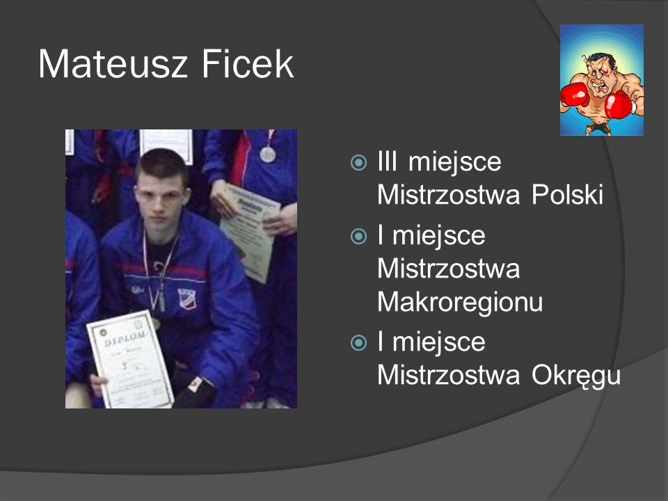 Mateusz Ficek III miejsce Mistrzostwa Polski