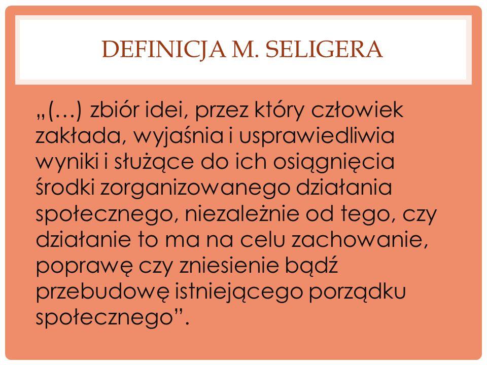 Definicja m. Seligera