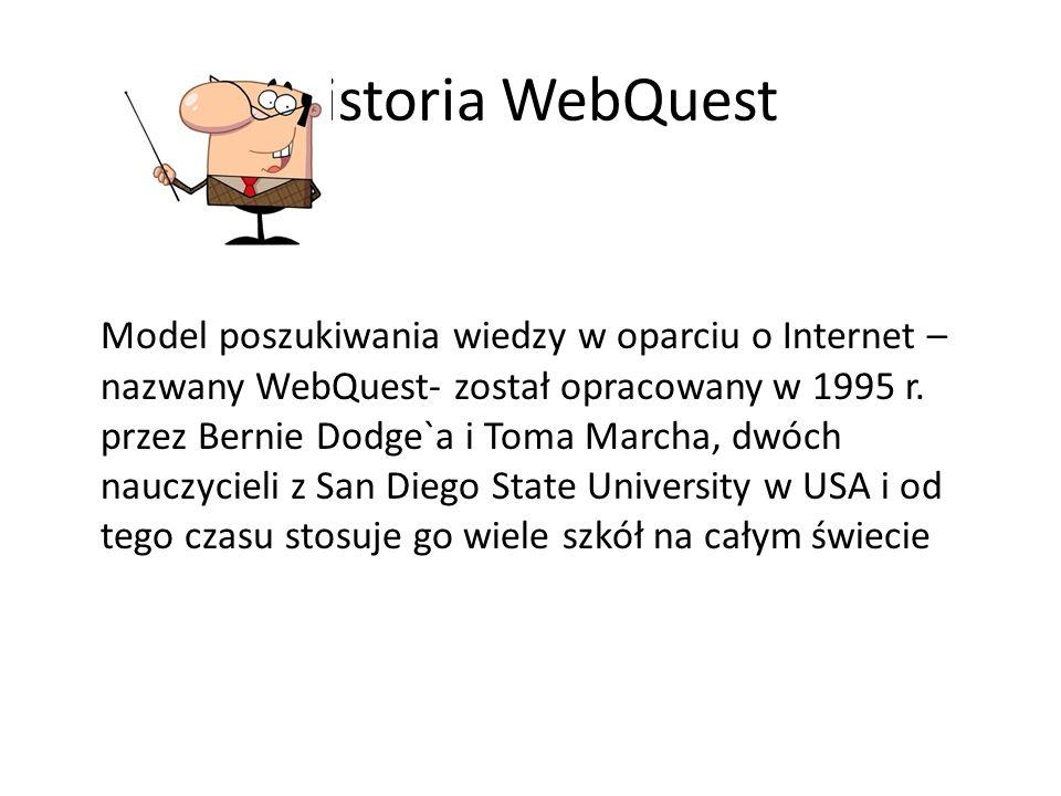 Historia WebQuest