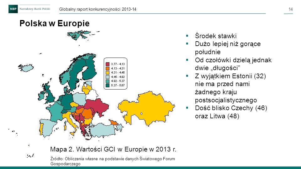 Polska w Europie Środek stawki Dużo lepiej niż gorące południe