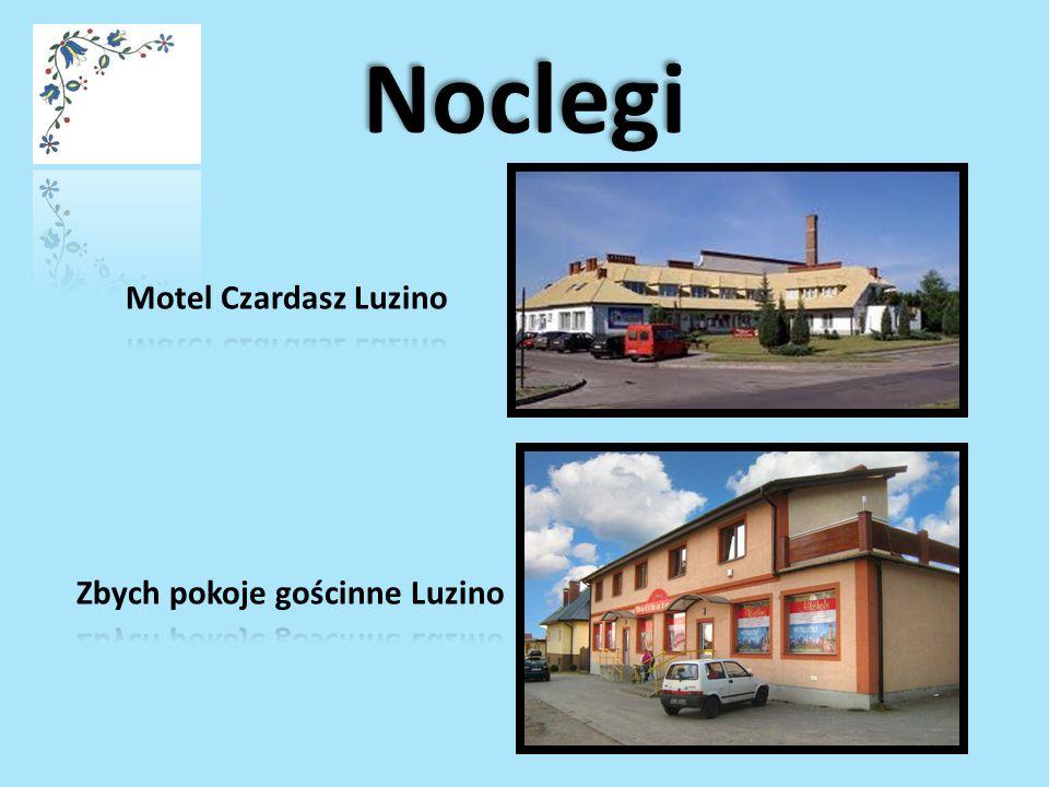 Noclegi Motel Czardasz Luzino Zbych pokoje gościnne Luzino