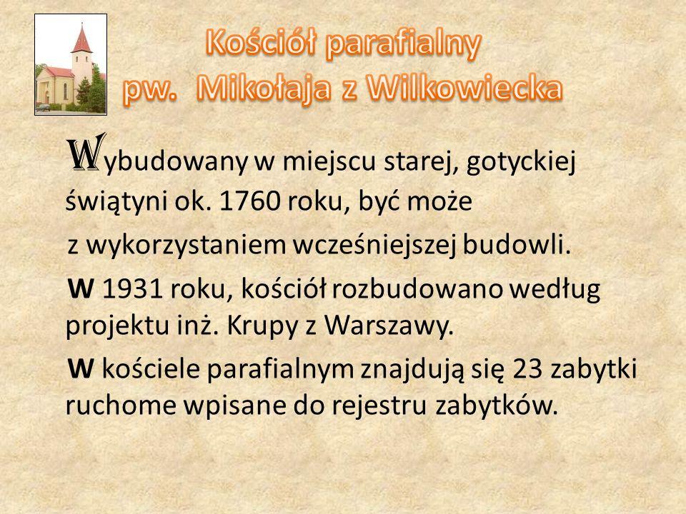 Kościół parafialny pw. Mikołaja z Wilkowiecka