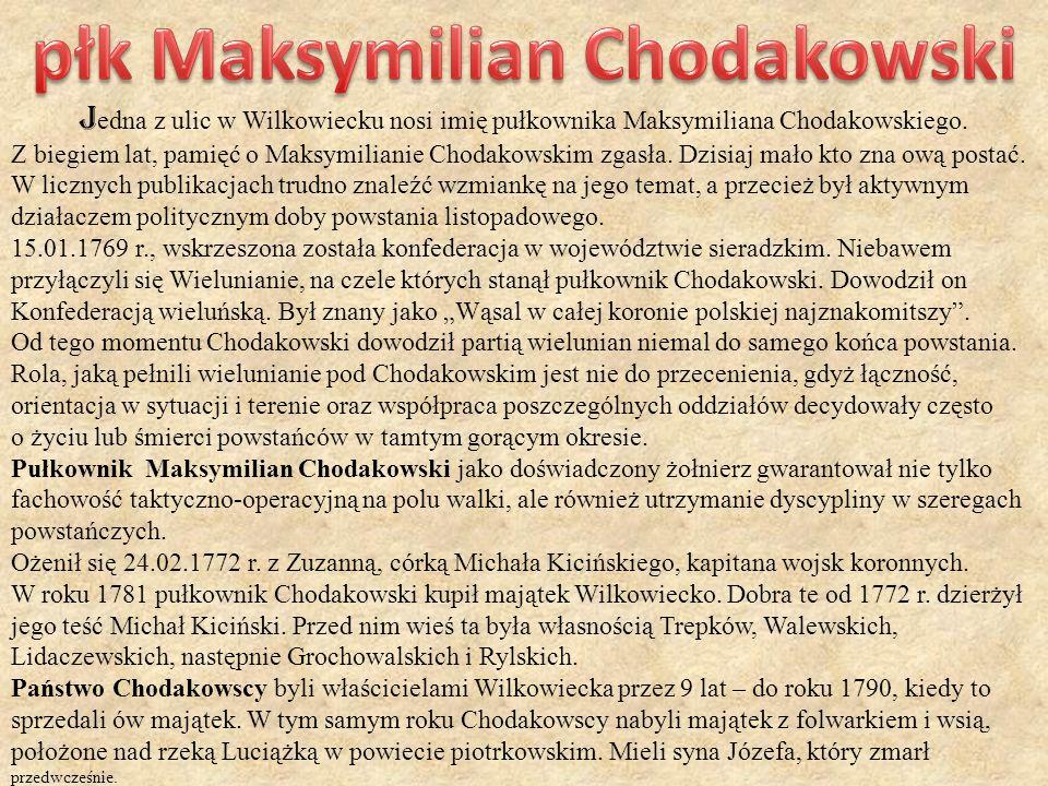 płk Maksymilian Chodakowski