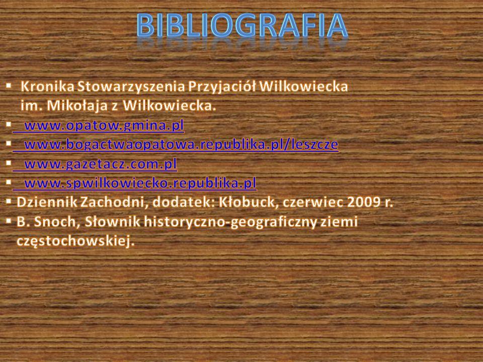BibLiografia Kronika Stowarzyszenia Przyjaciół Wilkowiecka
