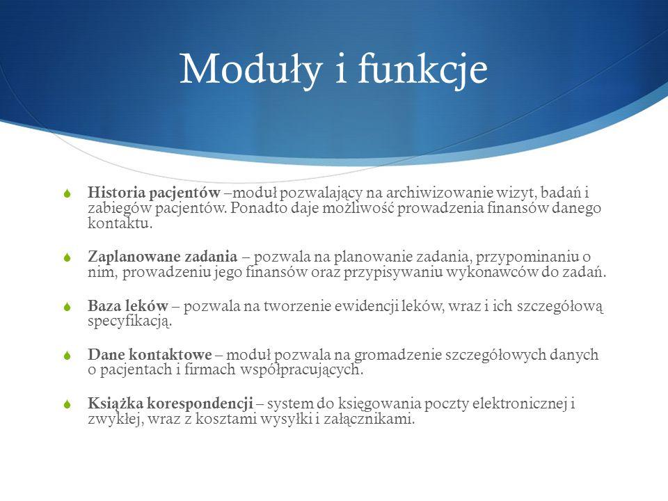 Moduły i funkcje