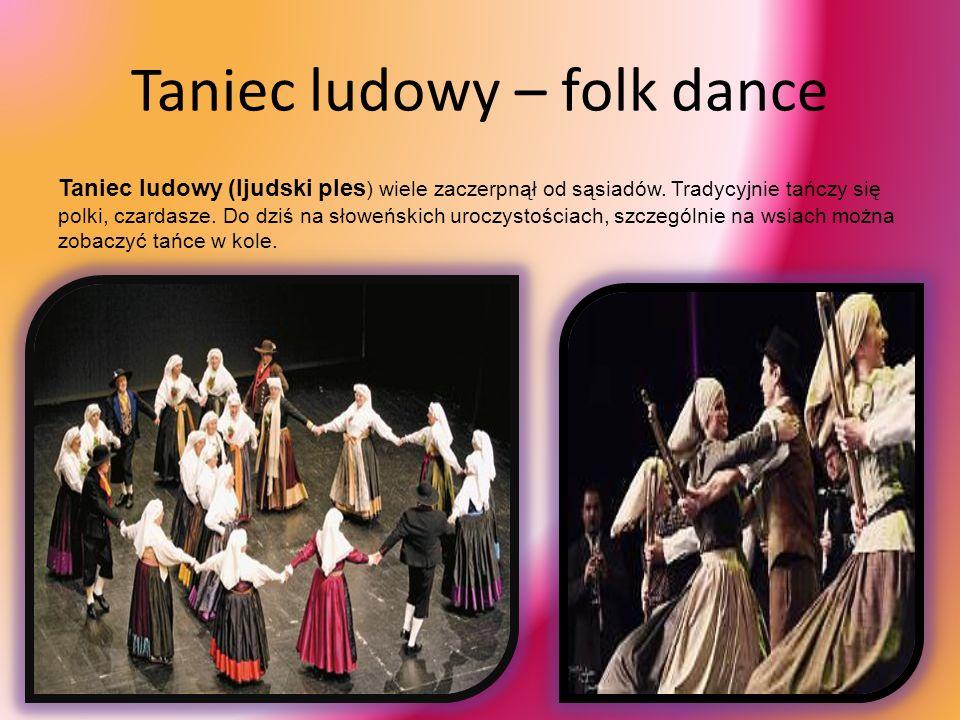 Taniec ludowy – folk dance