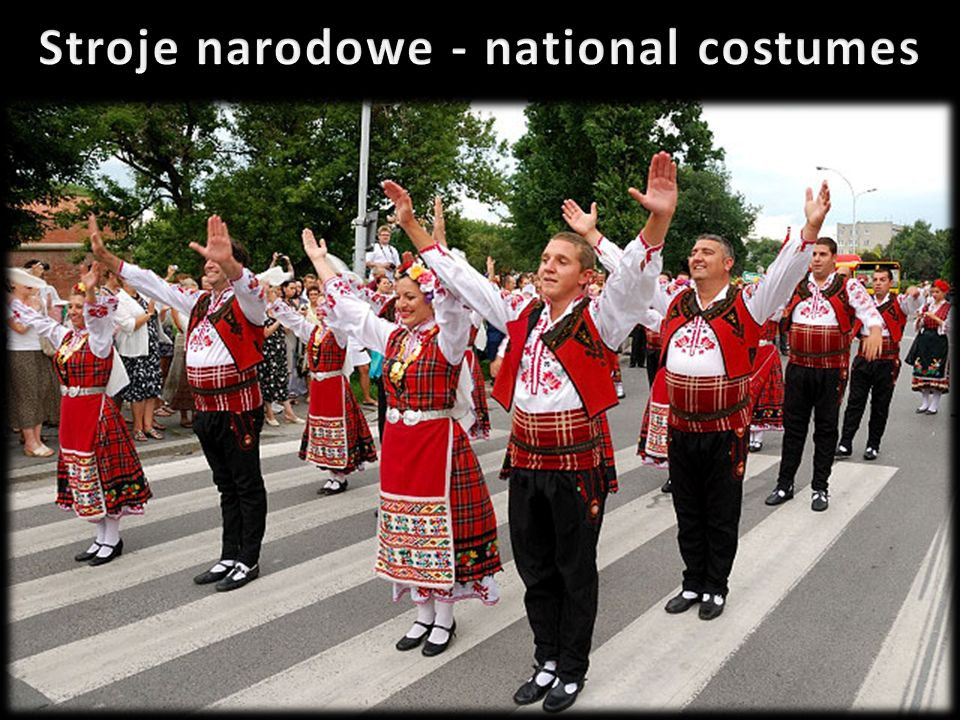 Stroje narodowe - national costumes