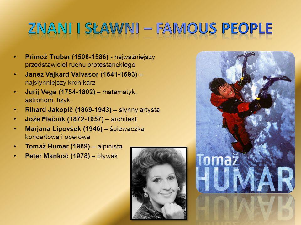 Znani i sławni – famous people