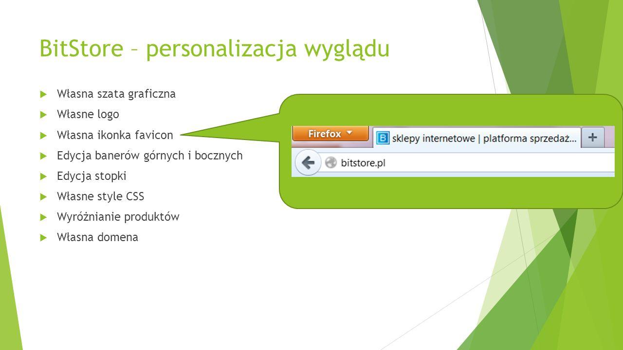 BitStore – personalizacja wyglądu