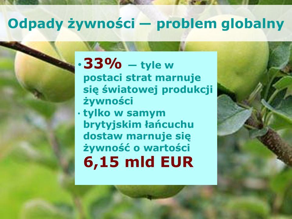 Odpady żywności — problem globalny