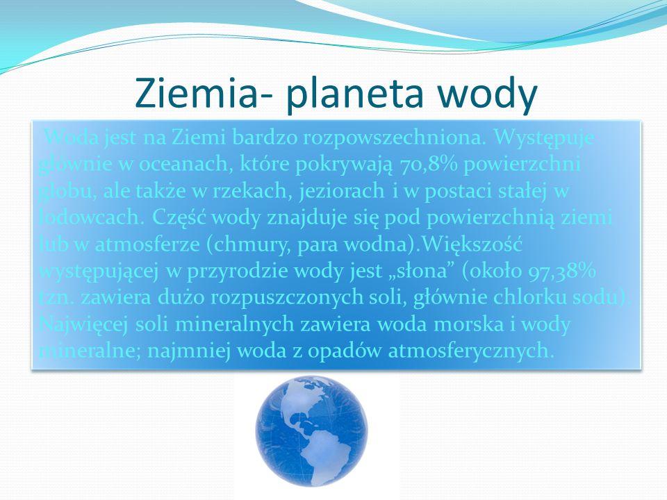 Ziemia- planeta wody