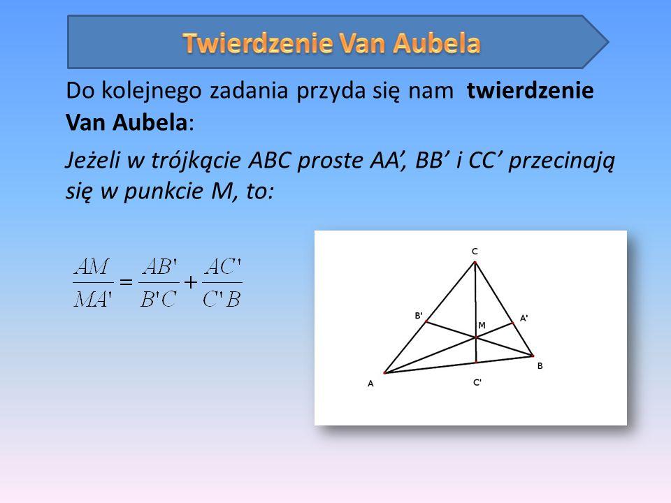 Twierdzenie Van Aubela