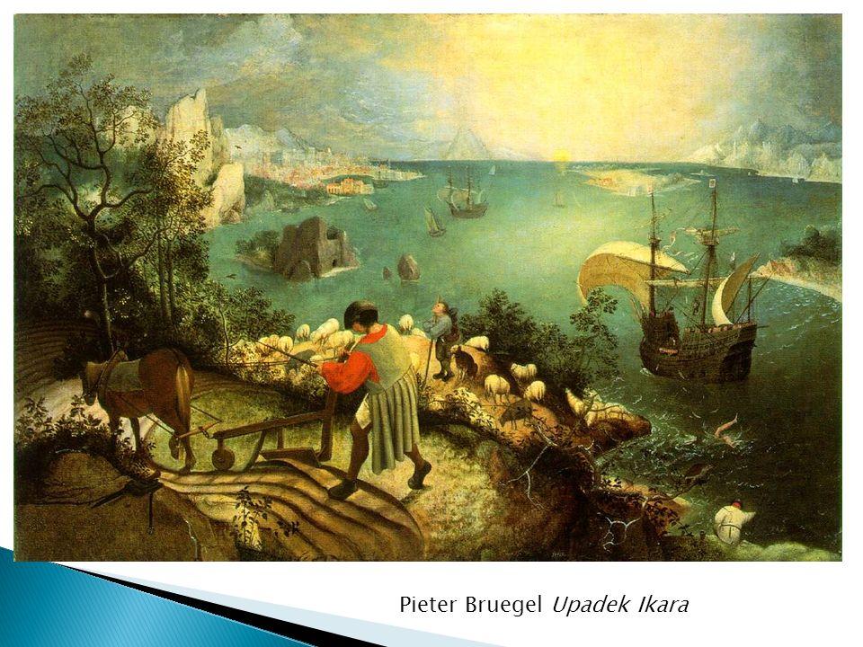 Pieter Bruegel Upadek Ikara