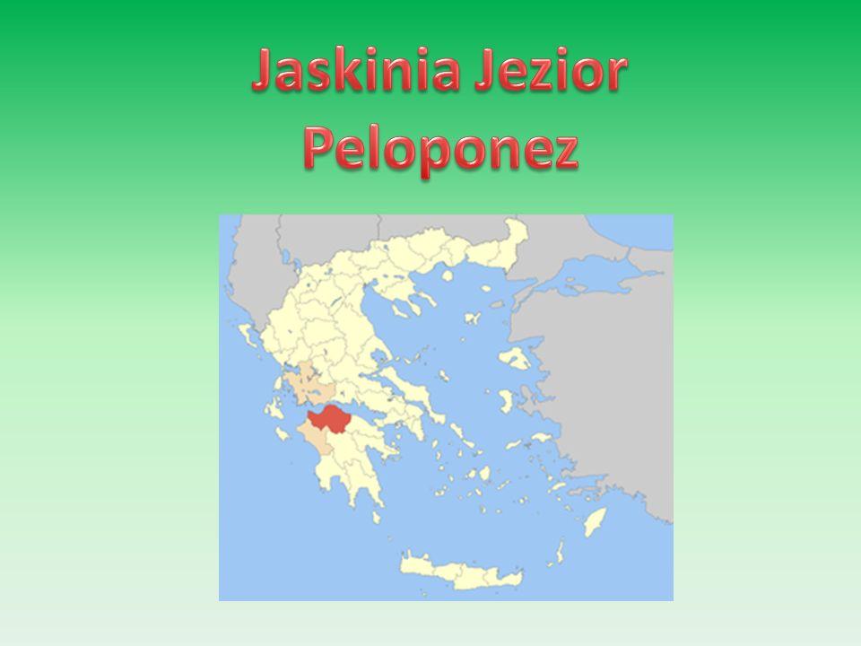 Jaskinia Jezior Peloponez