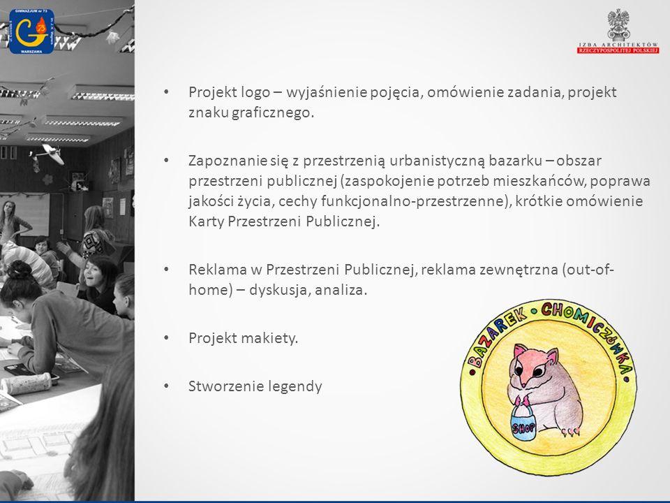 Projekt logo – wyjaśnienie pojęcia, omówienie zadania, projekt znaku graficznego.