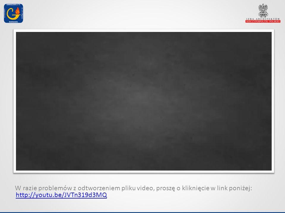 W razie problemów z odtworzeniem pliku video, proszę o kliknięcie w link poniżej: