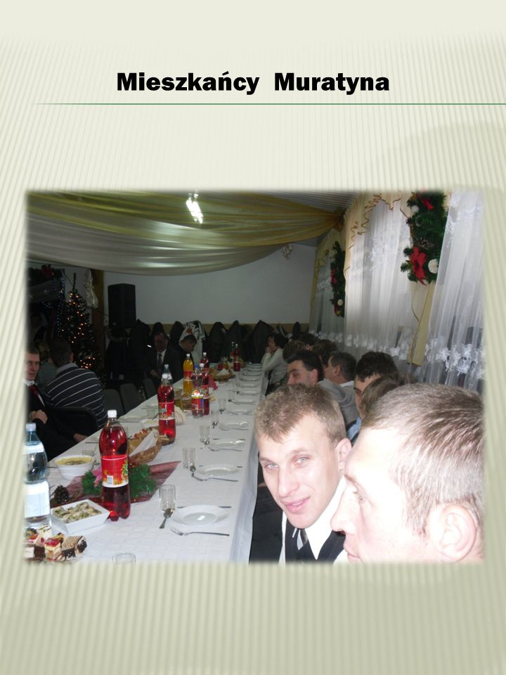 Mieszkańcy Muratyna