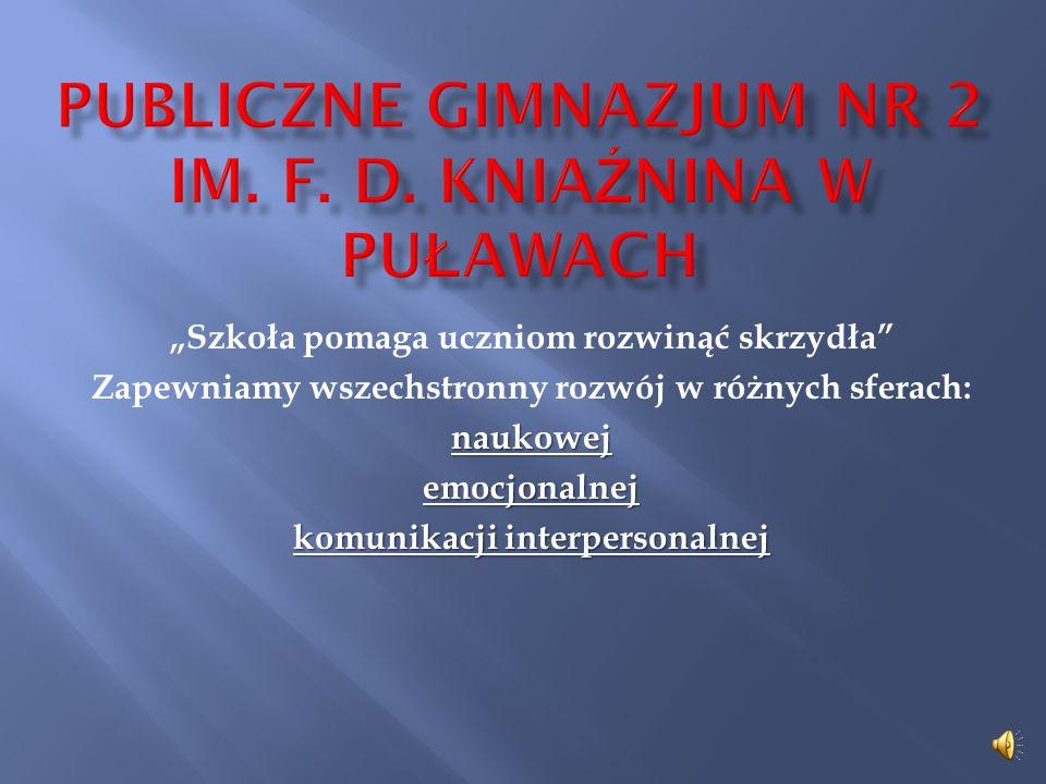 Publiczne Gimnazjum Nr 2 im. F. D. Kniaźnina w Puławach