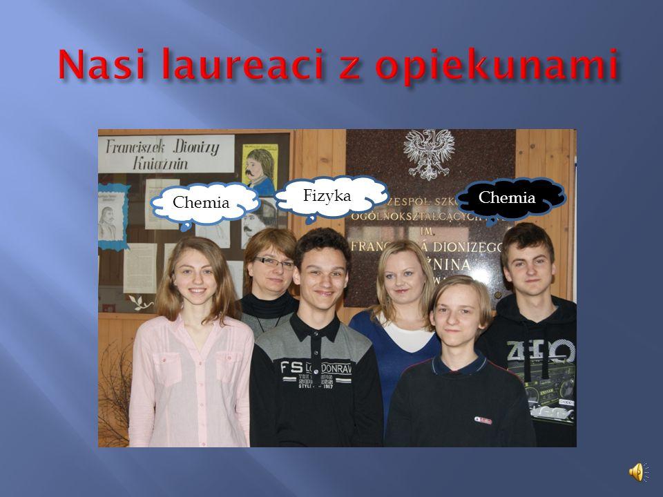 Nasi laureaci z opiekunami