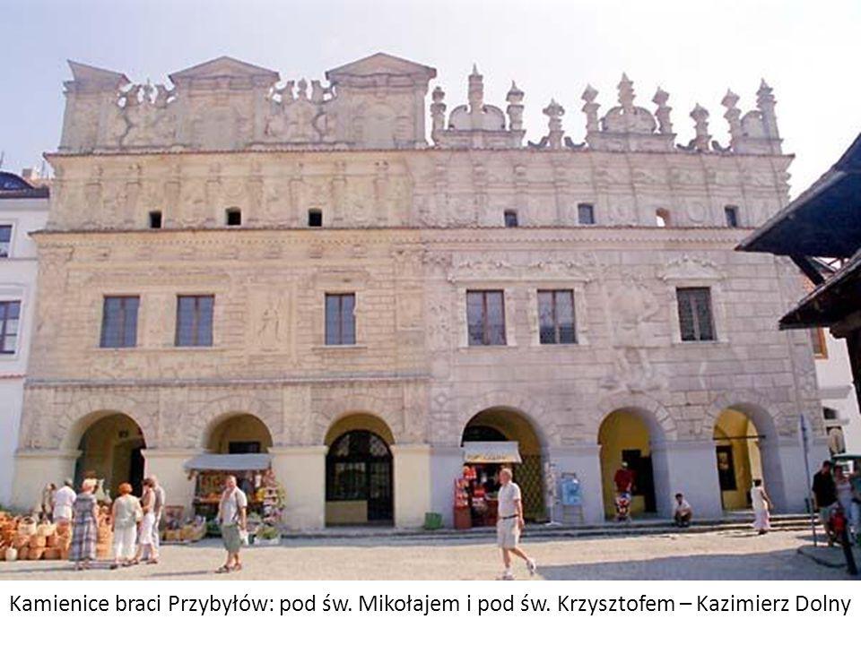 Kamienice braci Przybyłów: pod św. Mikołajem i pod św