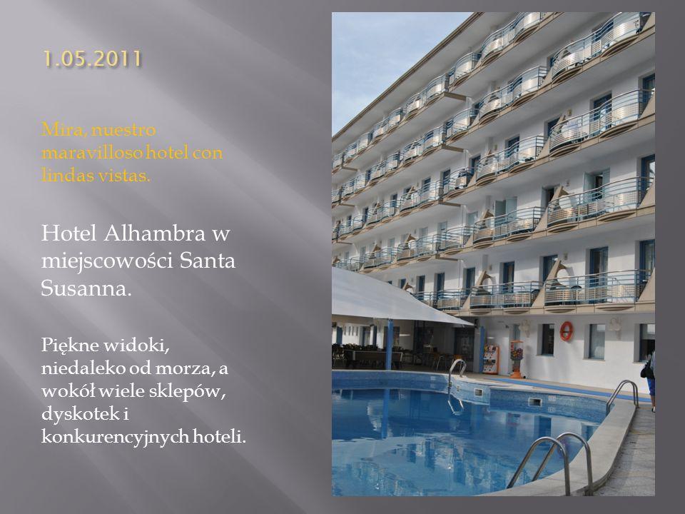 Hotel Alhambra w miejscowości Santa Susanna.