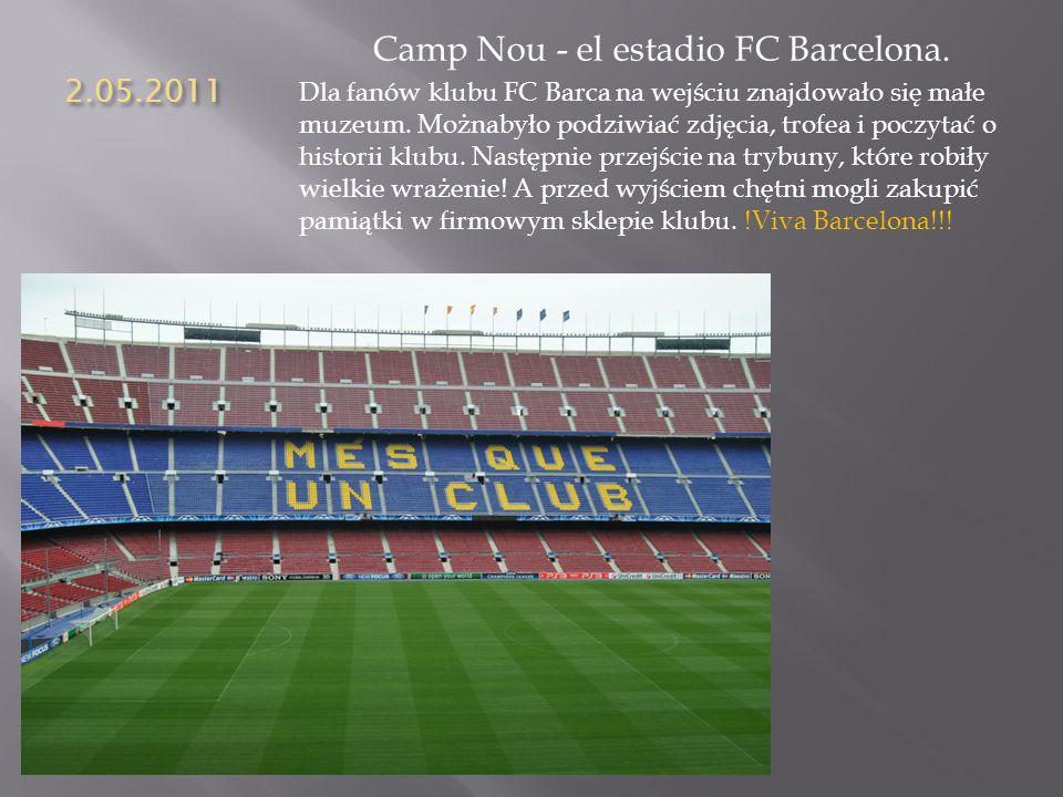Camp Nou - el estadio FC Barcelona.