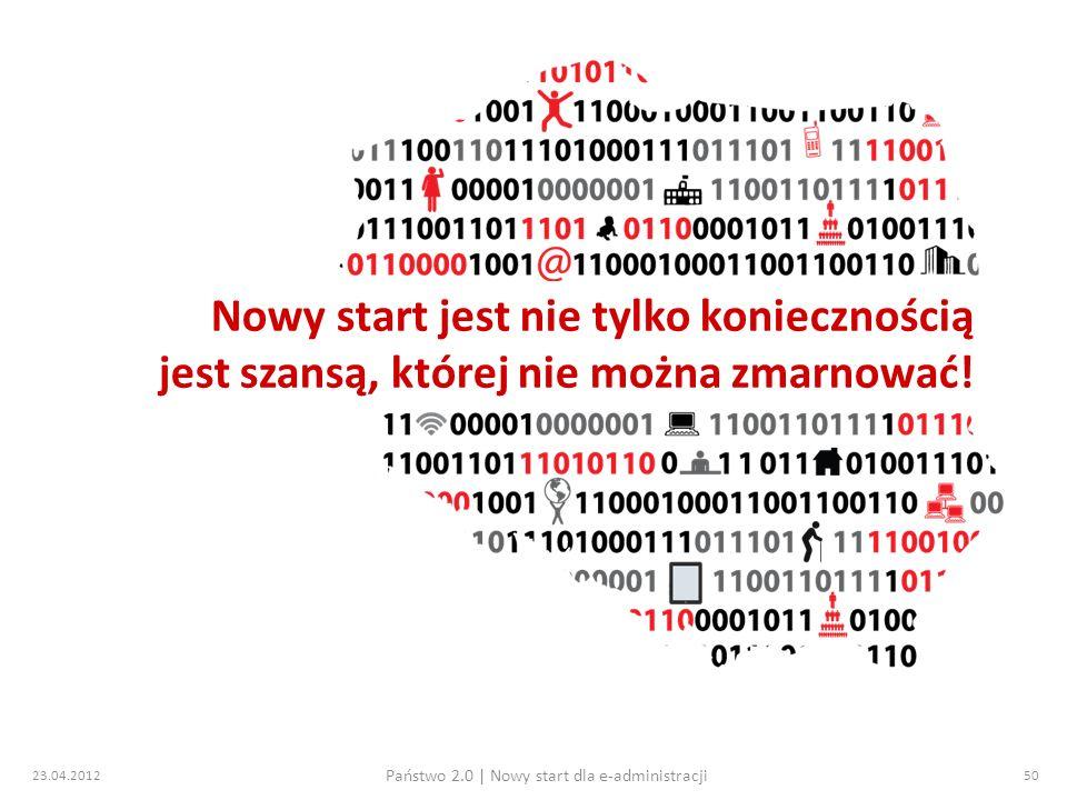 Państwo 2.0 | Nowy start dla e-administracji