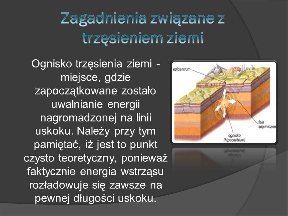 Zagadnienia związane z trzęsieniem ziemi