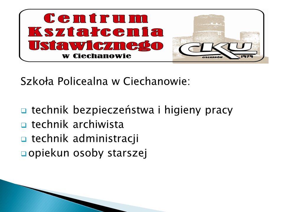 Szkoła Policealna w Ciechanowie: