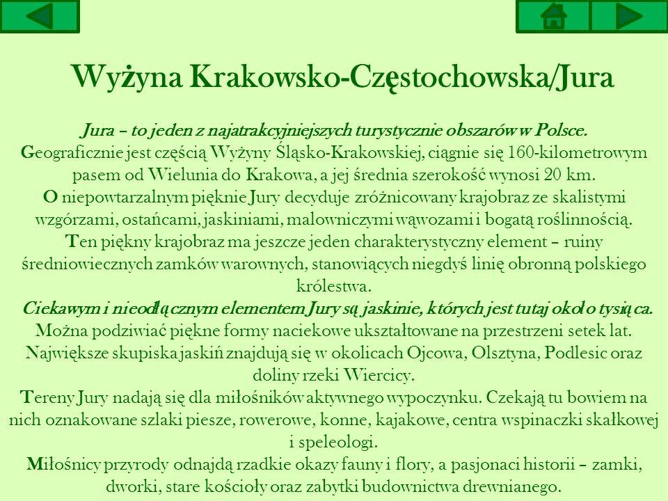 Wyżyna Krakowsko-Częstochowska/Jura